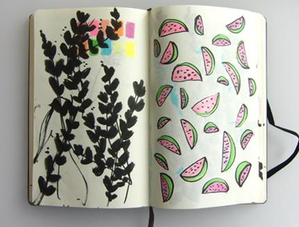 Laura's sketchbook 0