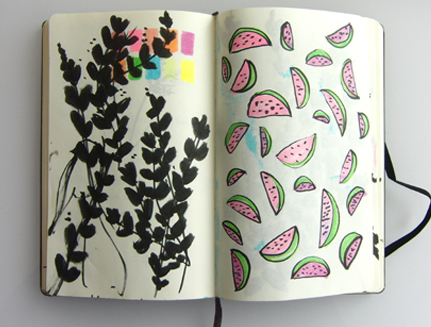 Laura's sketchbook 0