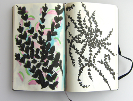 Laura's sketchbook