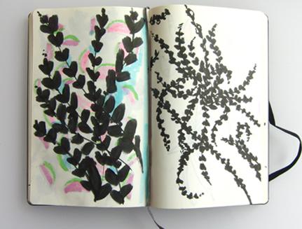 Laura's sketchbook