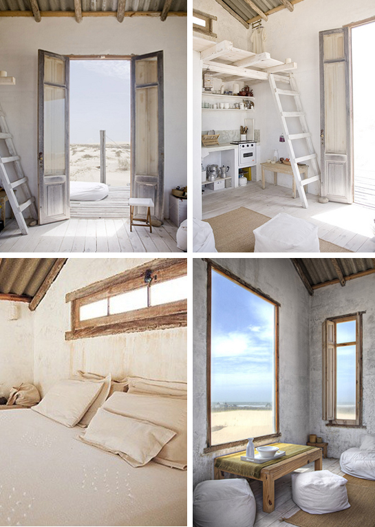 beach hut indoor