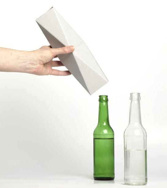 bottle vase carton