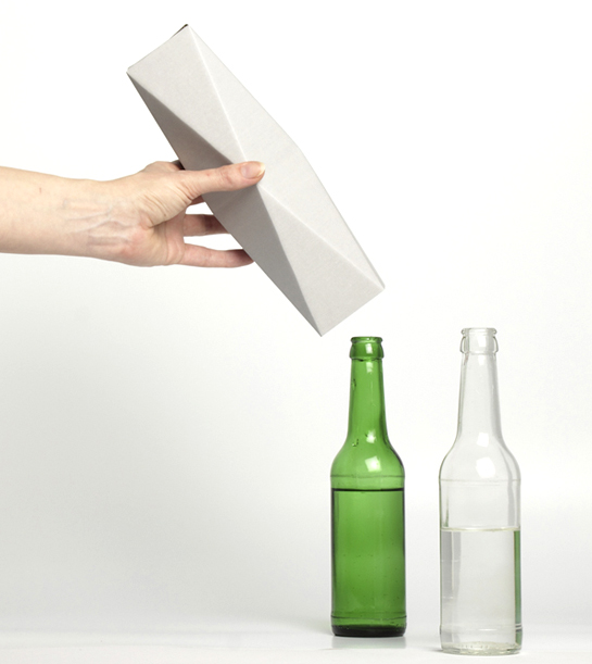 bottle vase carton