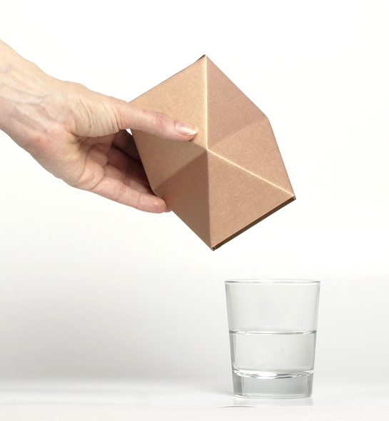 glass vase carton
