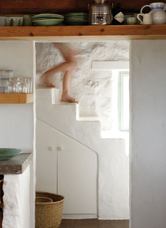 paternoster cottage stairs