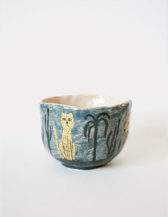 Leopard Mug by Karin Hagen 2