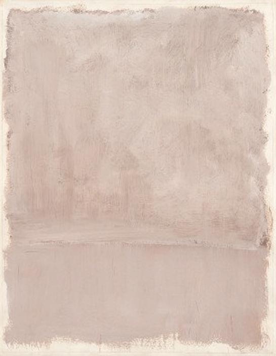 Mark Rothko, Untitled, 1969, Acrylic on paper,