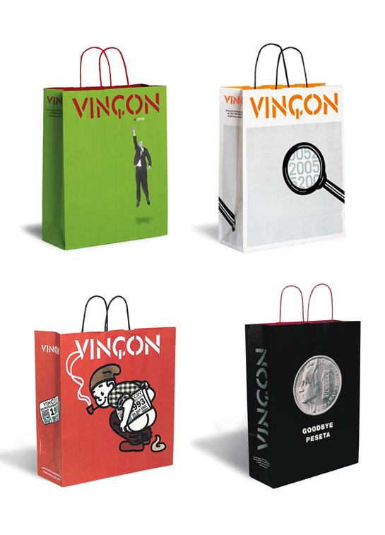 Vinçon Bags by Pati Nuñez