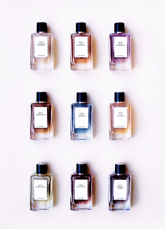 Prada's New Perfume Collection