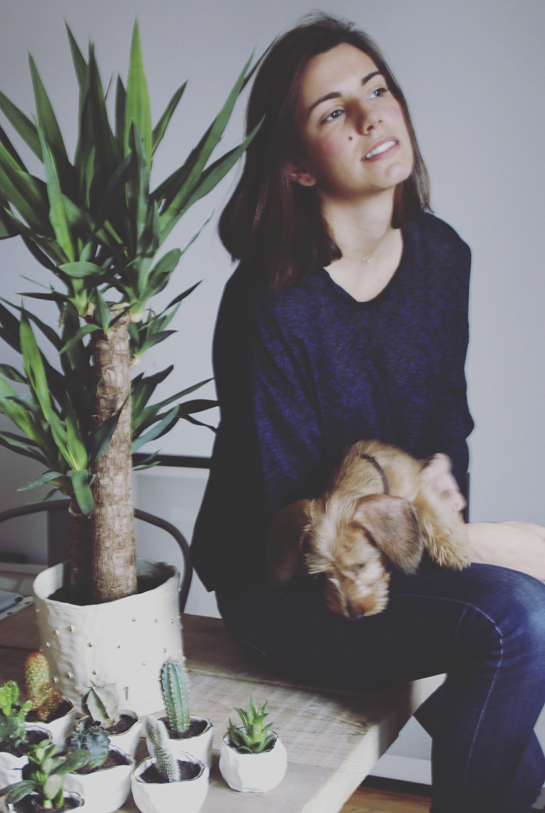 Elena, creadora de Bonjour