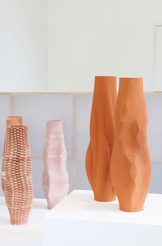 Olivier van Herpt 3D ceramics