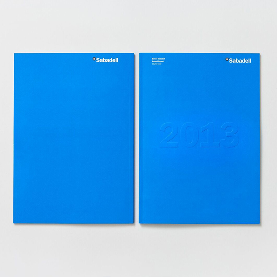 Banco Sabadell by Mario Eskenazi Annual Report