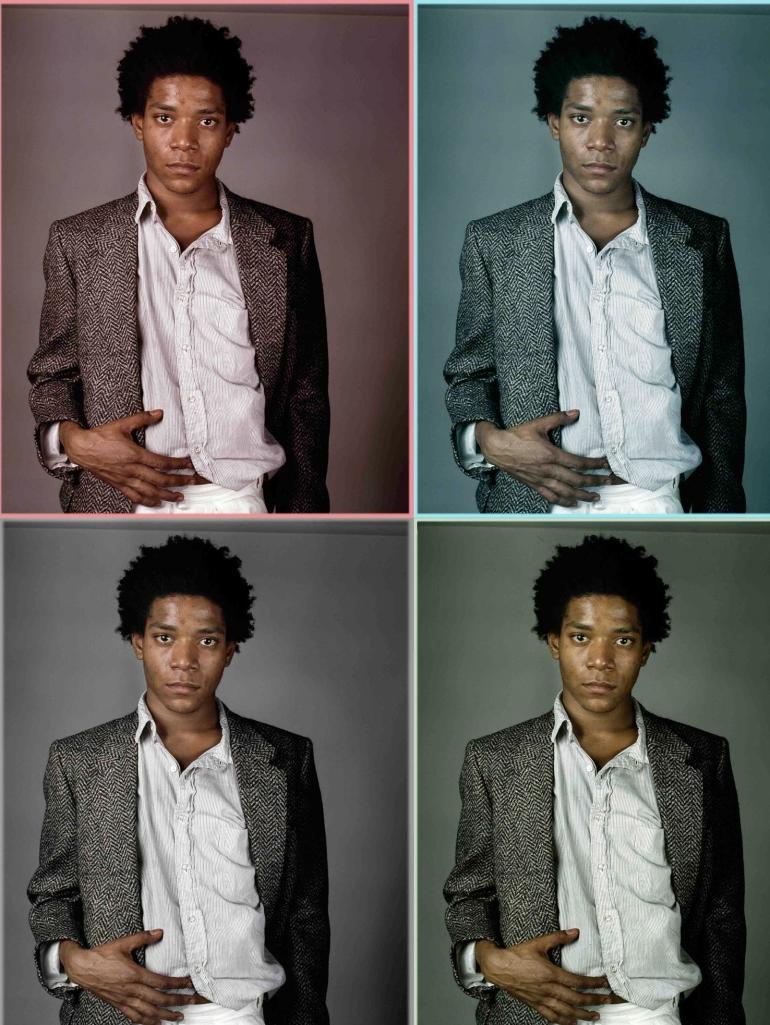 Basquiat by Richard Corman 04