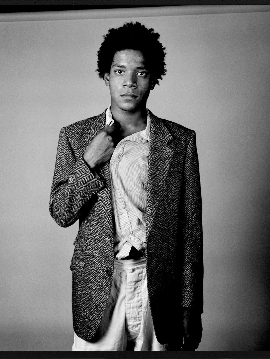 Basquiat by Richard Corman