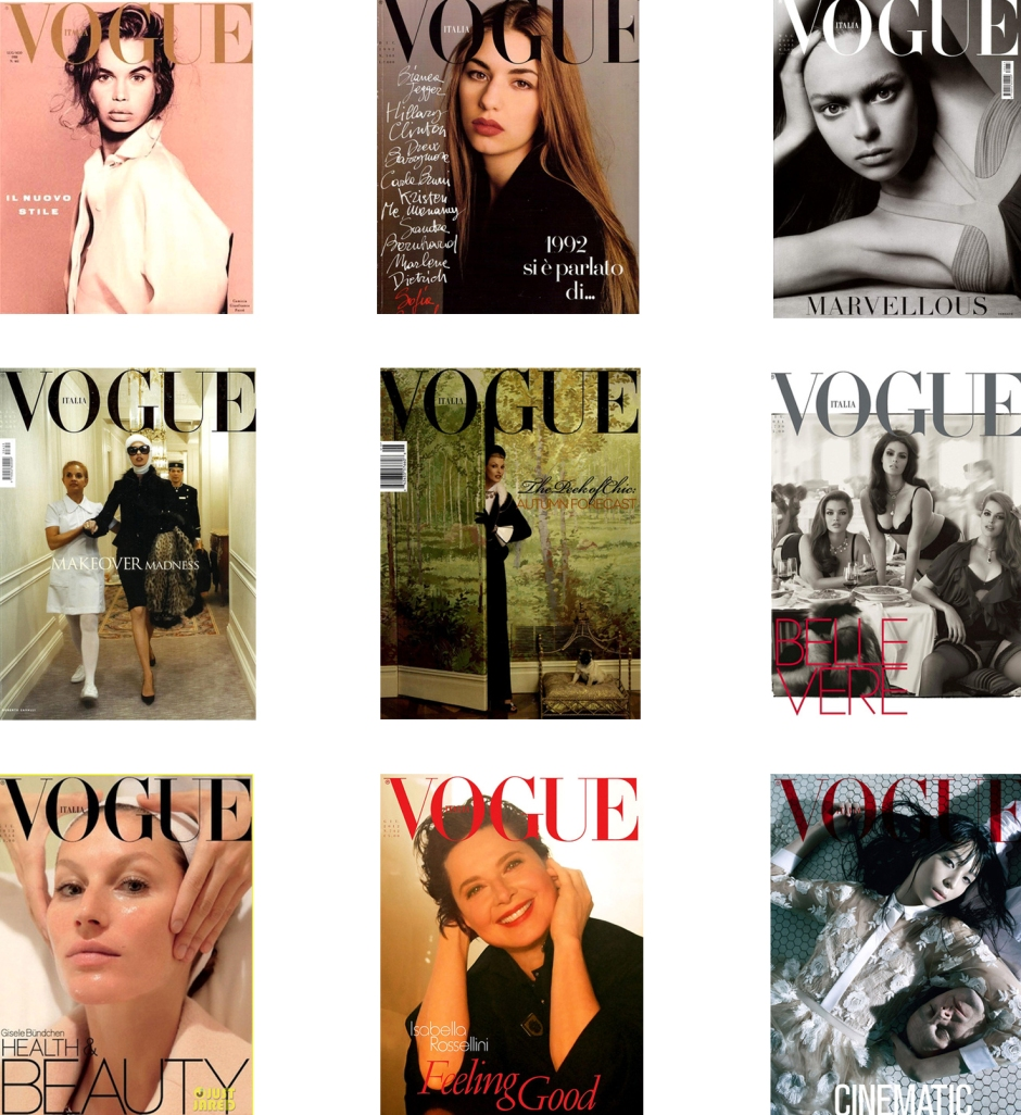 Franca Vogue Covers